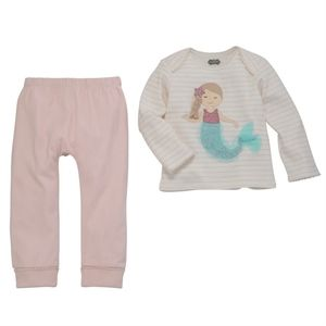 NWT Mud Pie 2-Piece Mermaid Set
